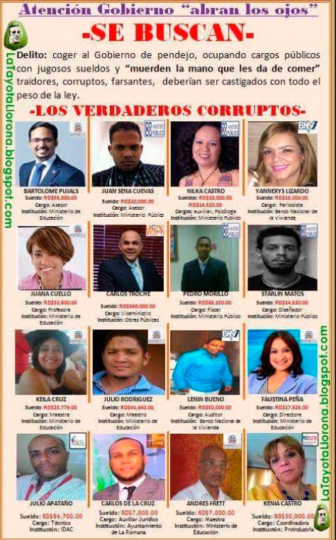 La corrupta soy yo (Foto: FE).