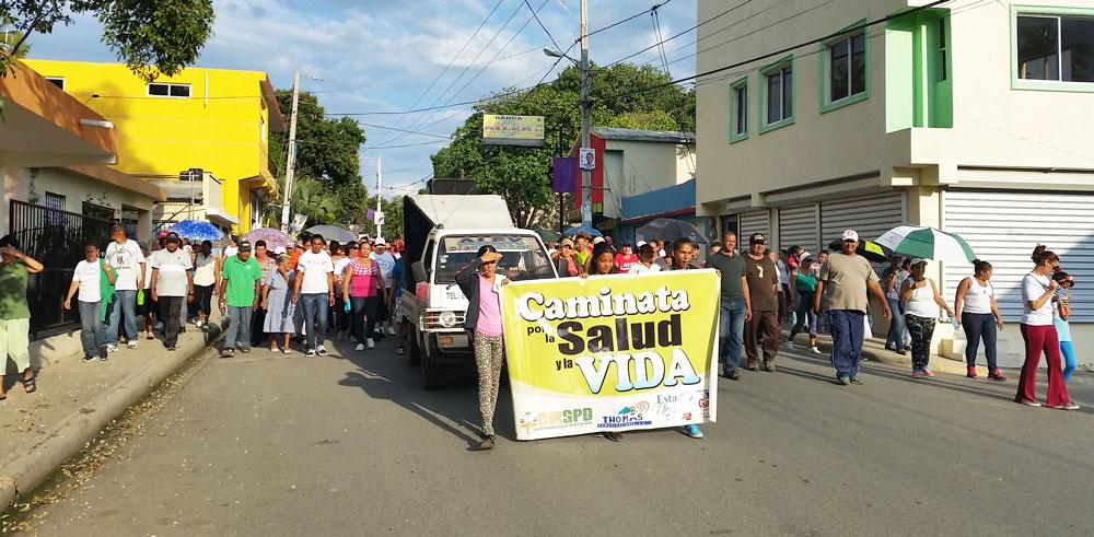Recorriendo las calles de Sabaneta.