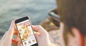 Una app para ordenar pizza