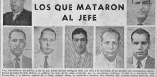Aviso publicado por el gobierno para promover la captura de los ajusticiadores de Trujillo. Fuente: AGN.