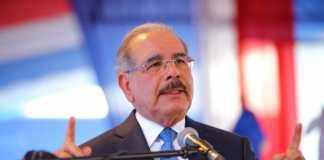 Presidente Danilo Medina. (Fuente externa).